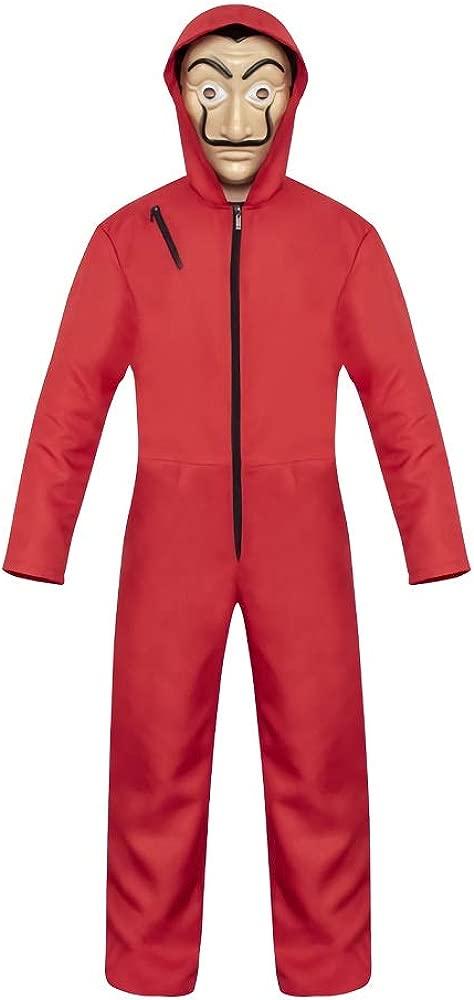 eyenjoy Dali La Casa De Papel Disfraz Rojo con Traje de ...