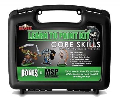 Miniatures 08906 Learn To Paint Bones Kit