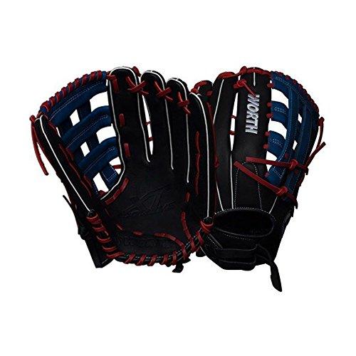 - Worth XT Extreme Slowpitch Softball Glove, 13.5 inch, Pro H Web, Left Hand Throw