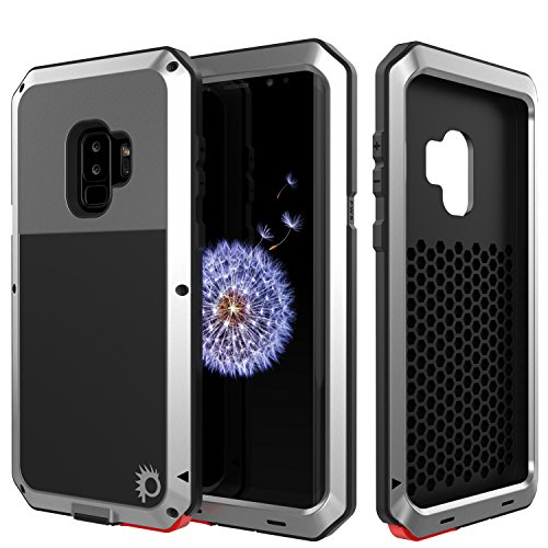 (Galaxy S9 Plus Metal Case, Heavy Duty Military Grade Rugged Armor Cover [Shock Proof] Hybrid Full Body Hard Aluminum & TPU Design [Non Slip] W/Prime Drop Protection for Samsung Galaxy)