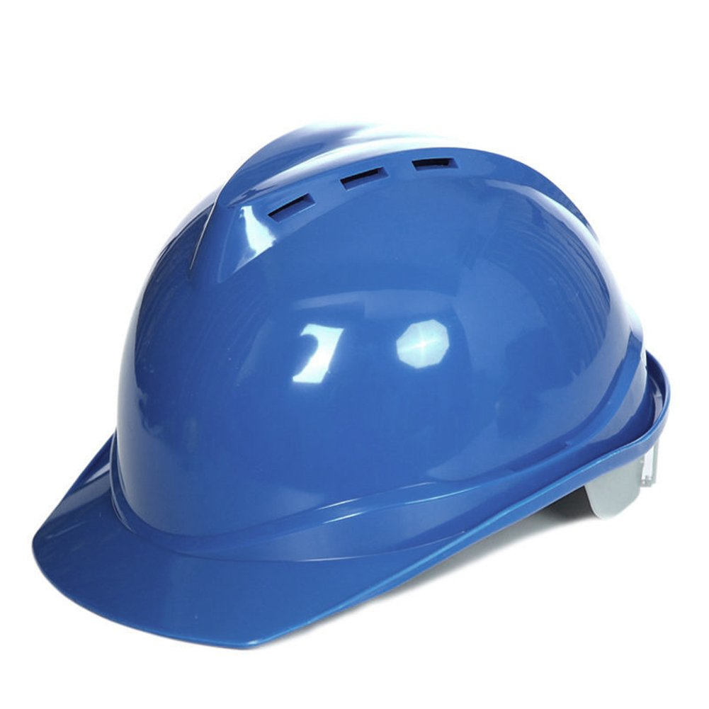 Behavetw Casco de Seguridad - Casco de Construcción Protectora, Muy Ligero, Casco de Construcción con Bloqueo de Rueda, Sombrero Duro para Exteriores, ...