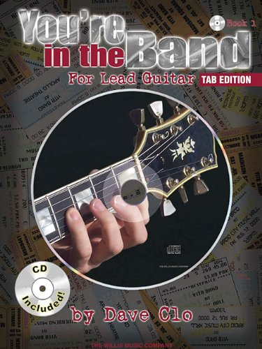 Free Guitar Tab Books (You'Re In The Band For Lead Guitar Book 1 Tab Edition Bk/CD)