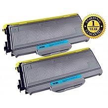2 PACK SaveOnMany ® Brother TN-360 TN360 Black BK (High Yield of TN330 TN-330) New Compatible Toner Cartridge For DCP-7030 DCP-7040 DCP-7045N HL-2140 HL-2150N HL-2170W MFC-7320 MFC-7340 MFC-7345DN MFC-7345N MFC-7440N MFC-7840W