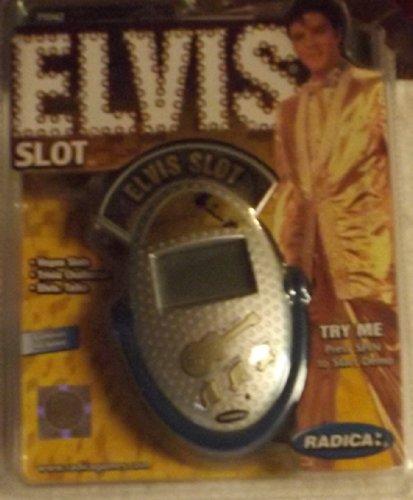 ELVIS LIVES - Elvis Handheld Electronic Talking Slot Machine by Radica