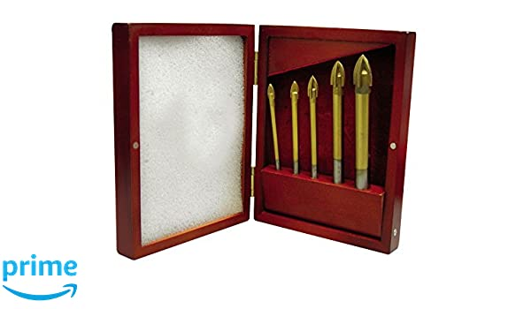 LEJA tools MD2005 Juego de 5 brocas multiusos de 4-5-6-8-10 mm con ...
