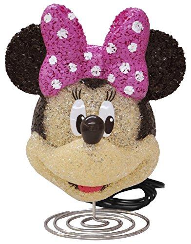 Disney Minnie Mouse Figural Eva Lamp, Pink, 6.61'X8.46'