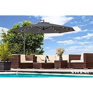 overhanging parasol ideas