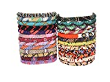 Goldenlines 12 Random Mix Bracelets Nepal bracelets Roll On Bracelet (SET OF 12)