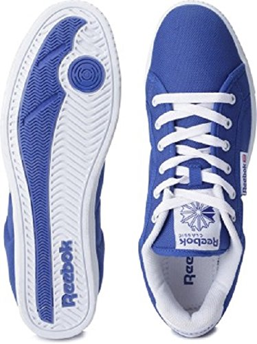 Reebok Classics Men s On Court III Lp Royal Blue and White Canvas Sneakers  - 7 UK  Buy Online at Low Prices in India - Amazon.in 875377b86
