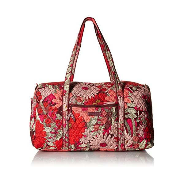Vera Bradley Large Travel Duffel Bag, Signature Cotton