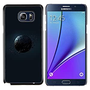 LECELL--Funda protectora / Cubierta / Piel For Samsung Galaxy Note 5 5th N9200 -- Polígono Planet --