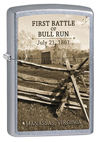 Zippo Lighter: Civil War, First Battle of Bull Run - Street Chrome 77268 by Zippo