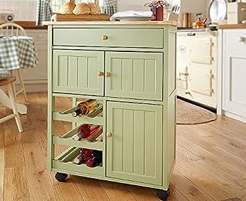 Winchcombe Küche Trolley Aufbewahrung Insel Warenkorb Rack ...
