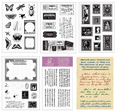 Layhome Vintage Clear Stamp Stamping Scrapbooking Notebook Album Cards Decor New Arrival (Sewing Machine) by Layhome (Image #3)