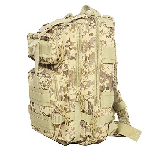 35L Outdoor Bergsteigen Tasche Sport Rucksack Oxford Wasserdichte Camouflage Tactical Rucksack