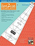 fast2cut Dresden Plate Template: Quickly Make Dresden Plates from 6 3/4' to 22 1/4'