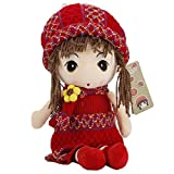 coffled Cute Little Princess Doll Baby Gril Amazing Plush Toy Birthday Gift- 15.7 Inch offers