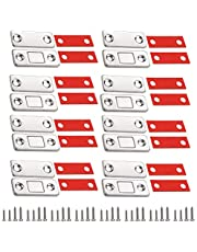 Deurmagneten voor kastdeuren 8 stuks magnetische snappers sterke magnetische sluiting kast laden magneet deursluiter deurmagneet voor meubels magneet kastmagneet zelfklevende schuifdeur deursluiting