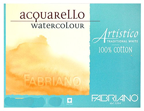 Fabriano Artistico 140 lb. Hot Press 20 Sheet Block 9x12