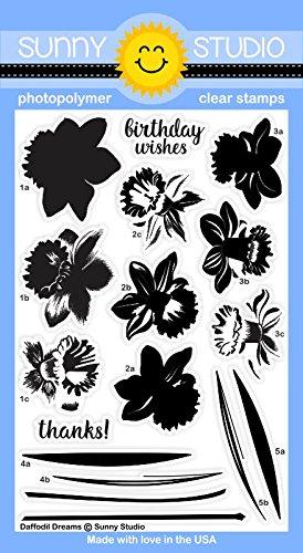 Sunny Studio Stamps ~ Daffodil - Sunnies Studio