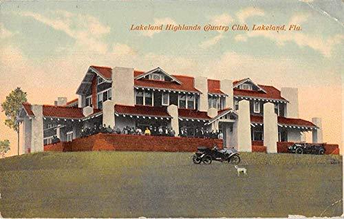Lakeland Florida Lakeland Highlands Country Club Vintage Postcard JA455935