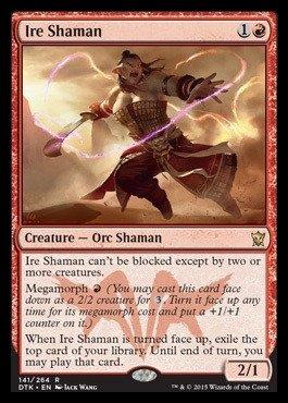 Magic: the Gathering - Ire Shaman (141/264) - Dragons of Tarkir