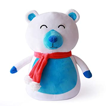 Baulody Cartoon Plush Doll Stuffed Shiba Inu 3D Animal Zoo Pet Throw Bed Nursery Decoration Baby