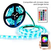 YIHONG LED Light Strip RGB Strip Lights LED Tape Lights...