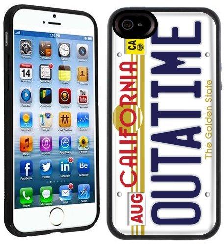 Outatime California | Handgefertigt | iPhone 6 6s (4,7') | Schwarze Hülle