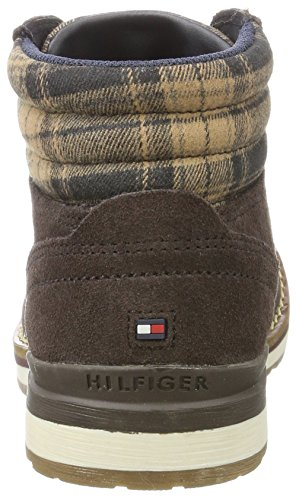 Chukka Bean 2b1 Bottes Hilfiger R3285over Tommy Coffee Jr Garçon Marron wzAX7Tfqya