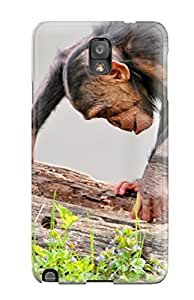 Galaxy Cover Case - Monkey Protective Case Compatibel With Galaxy Note 3