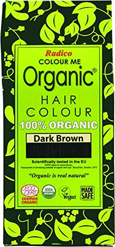 Radico Color Me Organic 100% Natural Herbs Long Lasting Dark Brown Hair Color 100g / 3.53 Oz. ()
