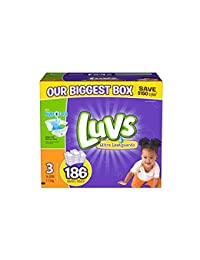 luvs diapers size 3, 186 count BOBEBE Online Baby Store From New York to Miami and Los Angeles