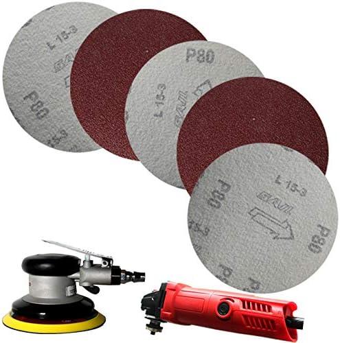FYMIJJ Sandpaper,High Quality 20pcs/Set 125mm Round Sandpaper Disk Sand Sheets Grit 40#- 7000# Sanding Discs,3000