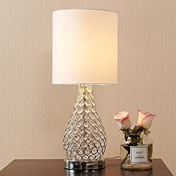 Tapered Crystal Column Lamp - Table Lamps - Amazon.com
