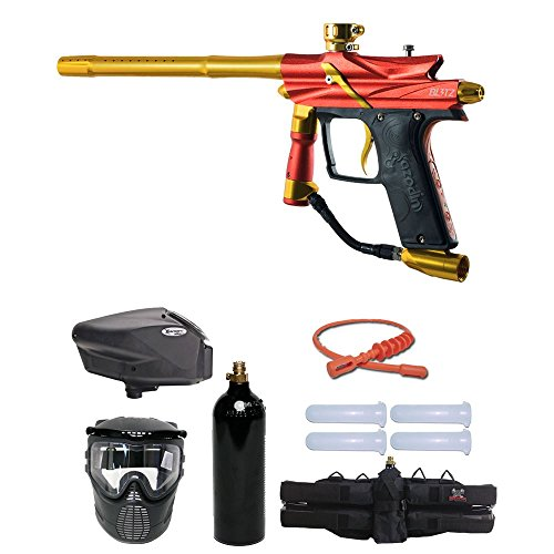 - MAddog Azodin Blitz 3 Gold Paintball Gun Package - Orange