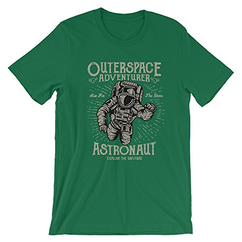 Ground 29 Outer Space Adventurer Astronaut Men's Tee (x-Large)