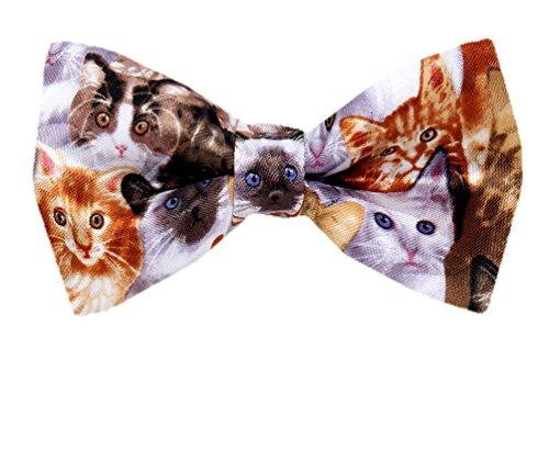 PBTN-208 - Cats Pre Tied Bow Tie ()