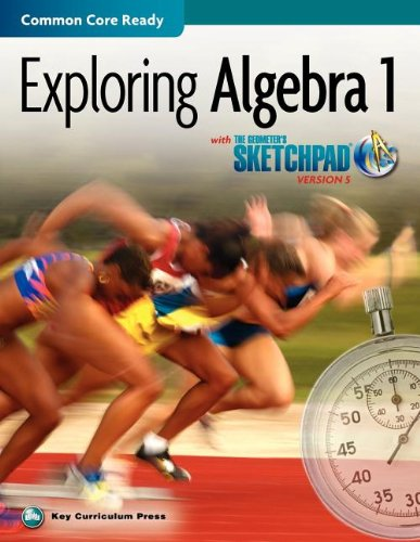 Exploring Algebra 1 with the Geometer's Sketchpad: Version 5 (SKETCHPAD ACTIVITY MODULES)