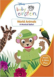 Amazon.com: Baby Einstein - World Animals: Baby Einstein ...