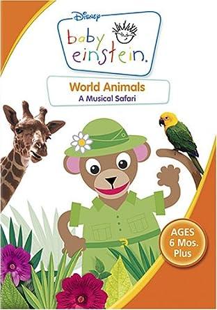 amazon com baby einstein world animals baby einstein n a