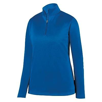 Augusta Vêtements de sport pour femme Évacuant Pull en laine polaire, bleu marine