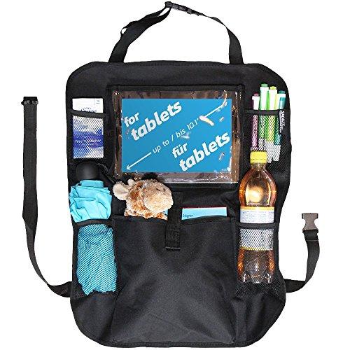 hot sale Organiseur de siège arrière pour les protections des enfants / Banquette arrière de voiture / Mat kick avec poches de rangement et porte-tablette / I-Pad