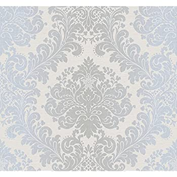 kenneth james 254220717 ambrosia silver glitter damask