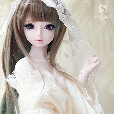 1/3 BJD SD16 BJD Doll Clothes Dress / Audrey Lace Princess Night Skirt / Creamy-White - 4027097 , B00HGU3OH8 , 454_B00HGU3OH8 , 48.99 , 1-3-BJD-SD16-BJD-Doll-Clothes-Dress--Audrey-Lace-Princess-Night-Skirt--Creamy-White-454_B00HGU3OH8 , usexpress.vn , 1/3 BJD SD16 BJD Doll Clothes Dress / Audrey Lace Princess Night Skirt / Creamy-White