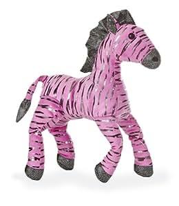 Amazon Com Aurora World Urban Jungle Pink Zebra 13 Plush Toys Games