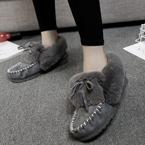 Des Chaussures De Clode® Doublé La Bottes Mode Pantoufles Femmes q5X7nx0wX