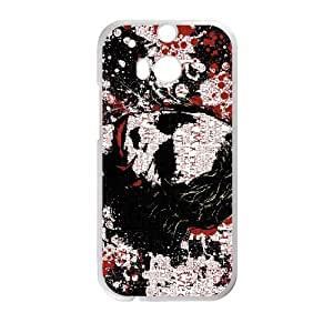 The Joker HTC One M8 Cell Phone Case White&Phone Accessory STC_084780
