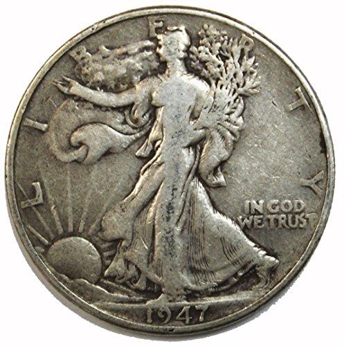 1947 P Walking Liberty Half Dollar 50c Average Circulated