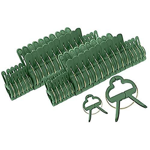 Zehui 20 UNIDS, Clips Multifuncional de jardinería, Clips de fijación de plástico de Agricultural, Suministros de...